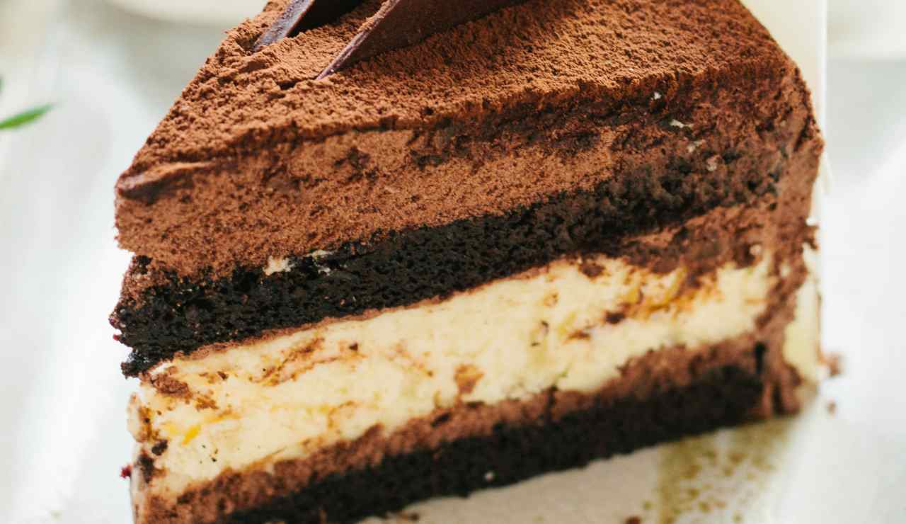 Torta tiramisù fondente fredda ricettasprint