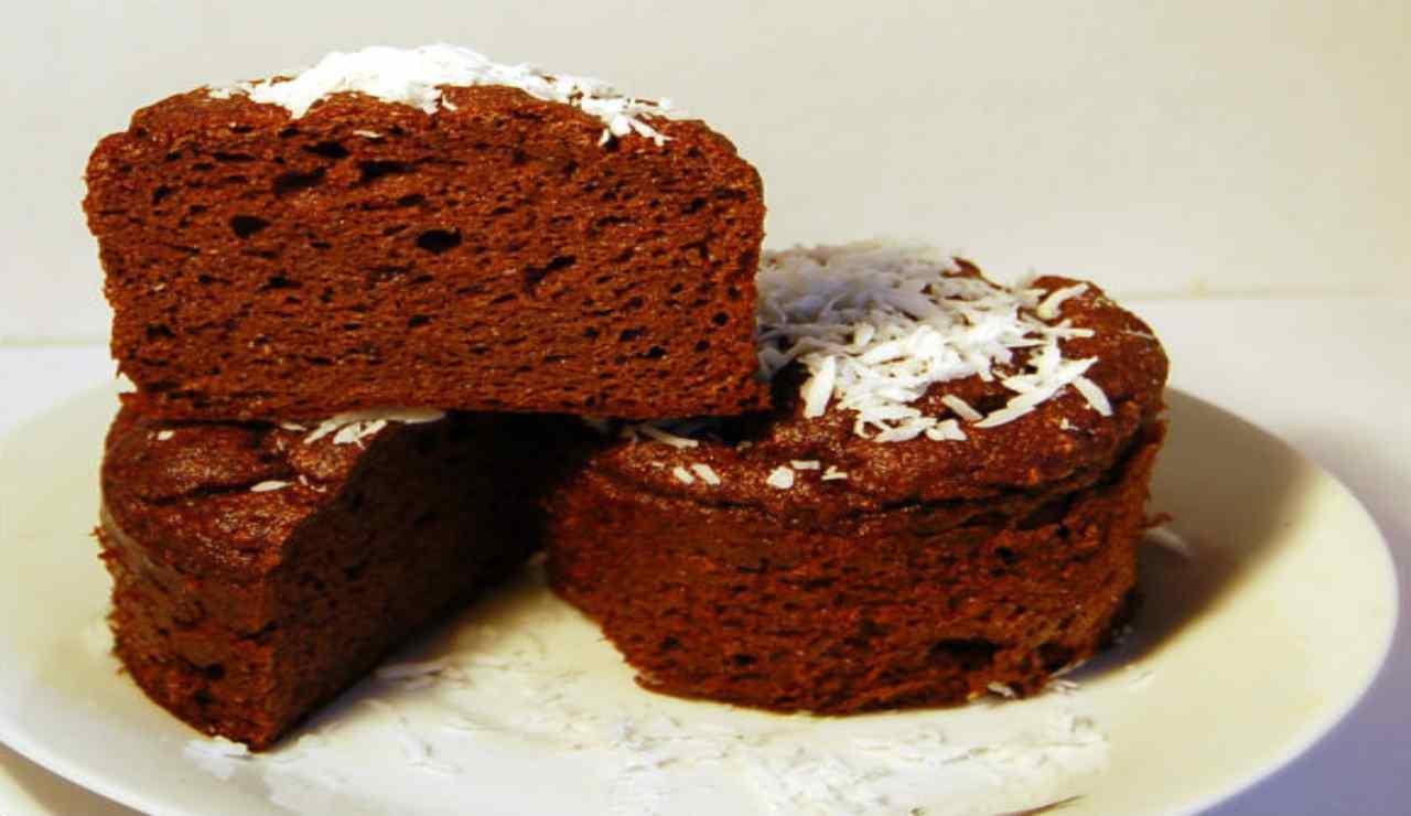 Tortini cocco e cioccolato fondente