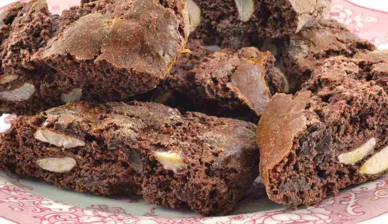 Tozzetti al cioccolato facilissimi ricettasprint