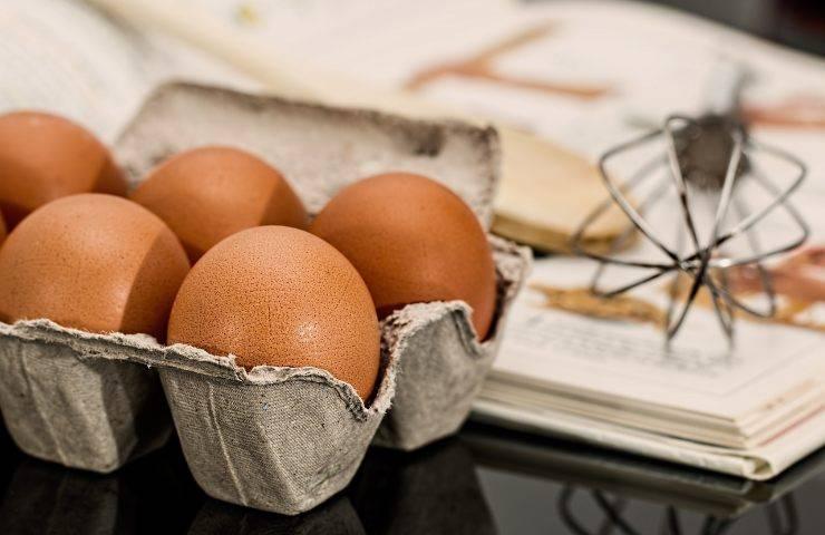 Uova crude quali rischi ci sono