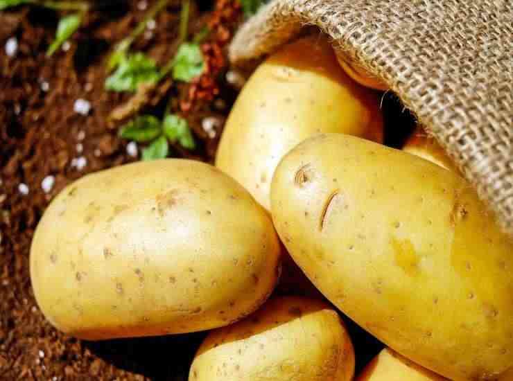 patate con buccia