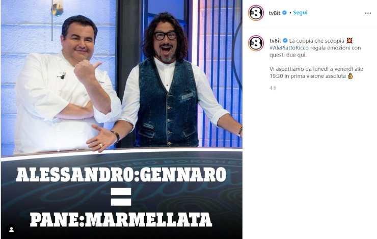 Alessandro Borghese pane marmellata ricetta - RicettaSprint