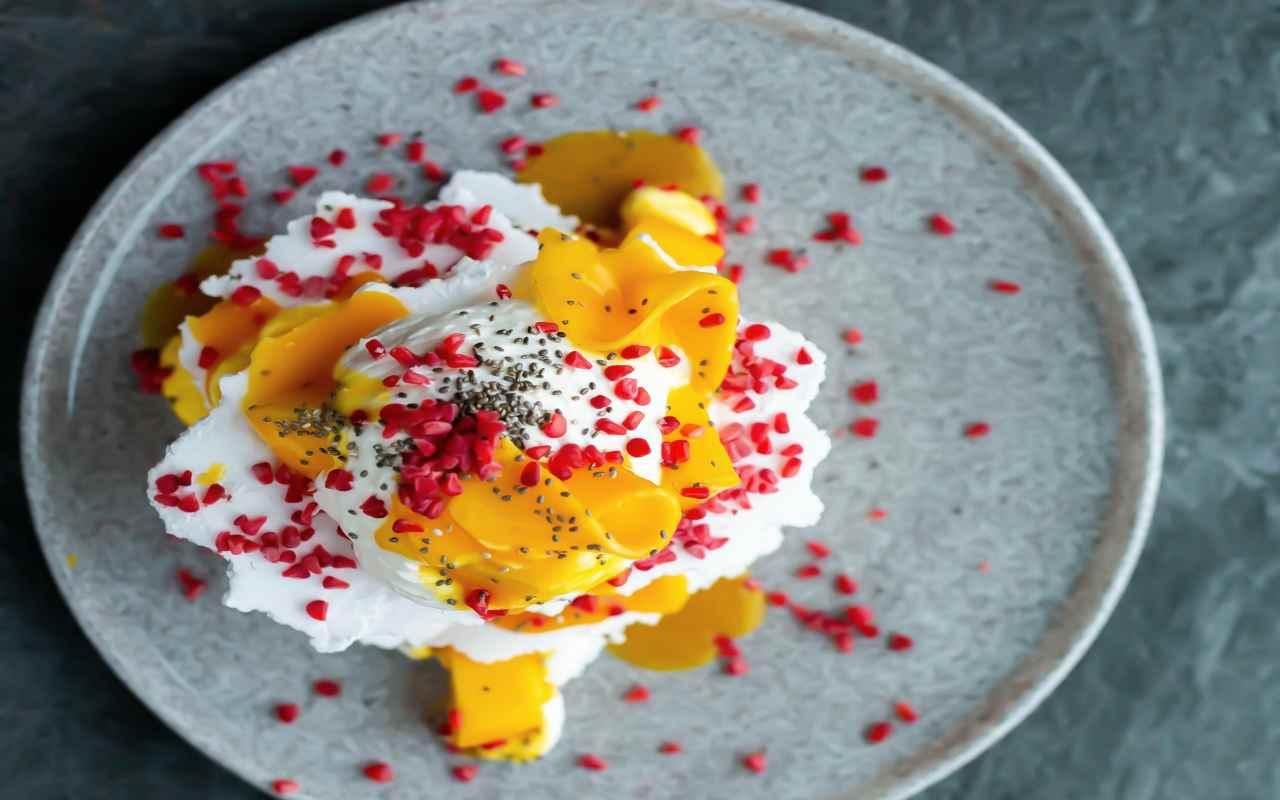 yogurt melograno mango ricetta FOTO ricettasprint