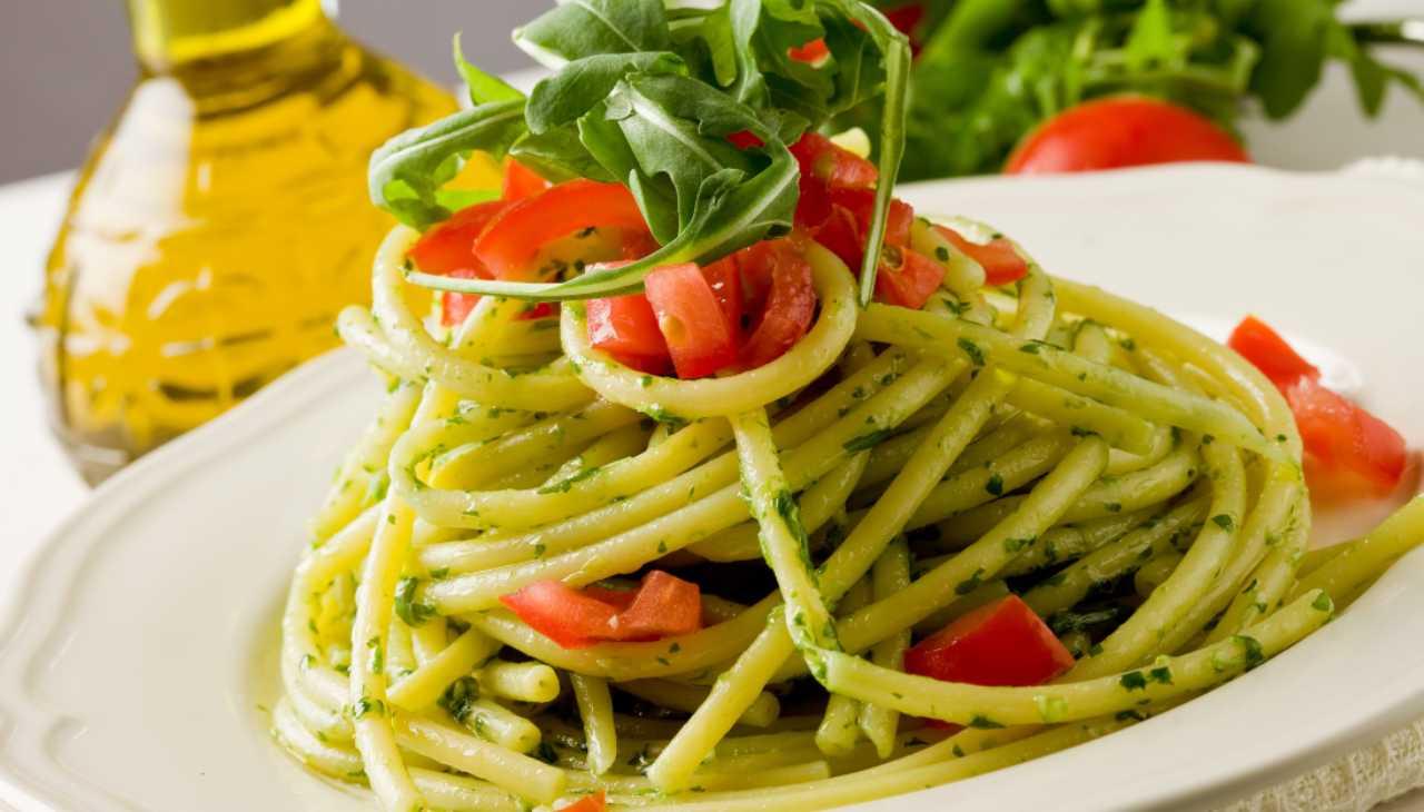 Primo di pasta con verdure