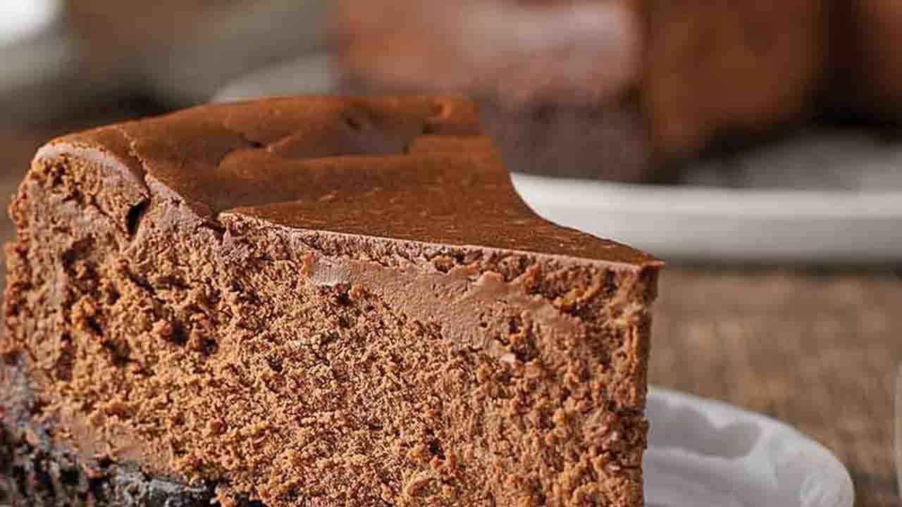 Torta al formaggio e cioccolato proteica