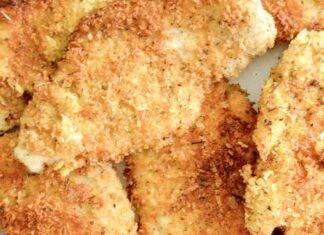 Petto di pollo impanato senza frittura