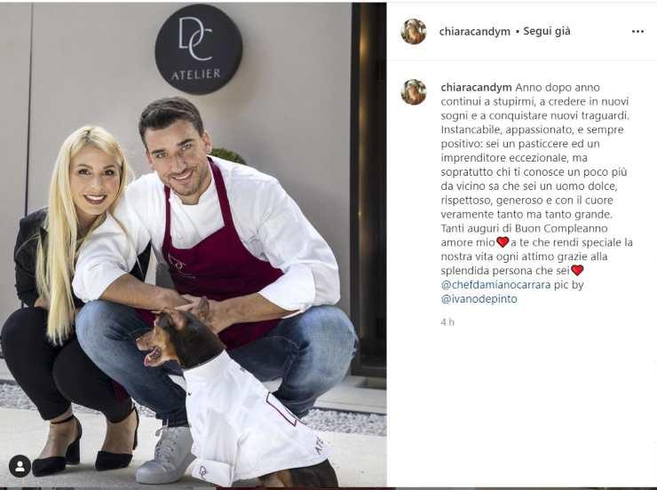 Damiano Carrara il gesto di Chiara - RicettaSprint