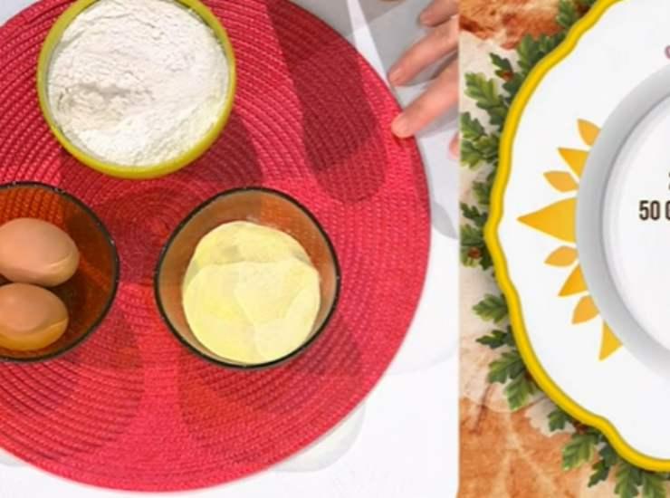 E' sempre mezzogiorno   Ricetta della Chef Francesca Marsetti   Tortelli con ricotta e limone
