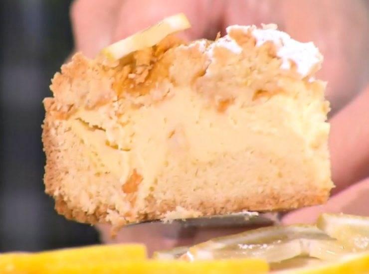 E' sempre mezzogiorno   Ricetta della chef Natalia Cattelani   Torta sole d'Ischia