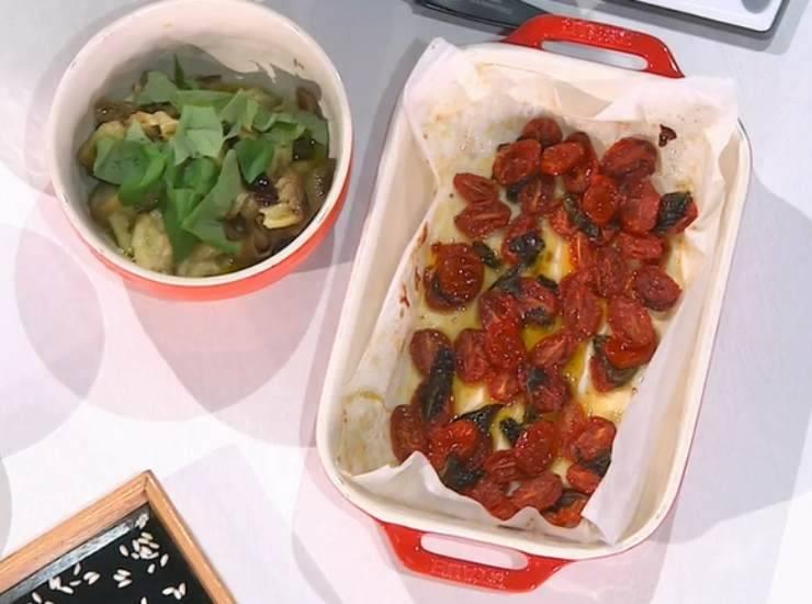 E' sempre mezzogiorno   Ricetta dello chef Barzetti   Risotto alla parmigiana di melanzane