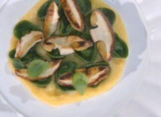 E' sempre mezzogiorno | Ricetta dello chef Ivano Ricchebono | Cappellacci verdi ai funghi porcini