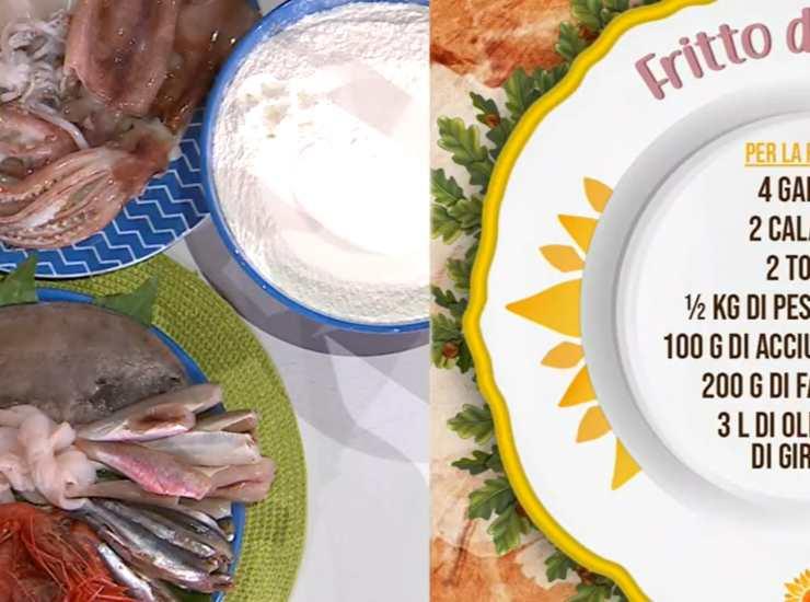 E' sempre mezzogiorno | Ricetta dello chef Ivano Ricchebono | Fritto del golfo