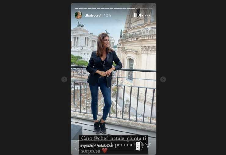 Elisa Isoardi Natale Giunta lontani - RicettaSprint