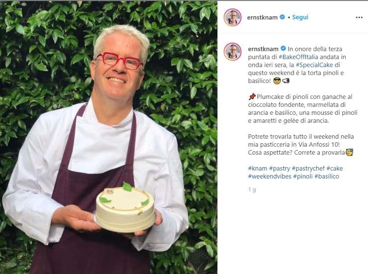 Ernst Knam conquista Bake Off - RicettaSprint