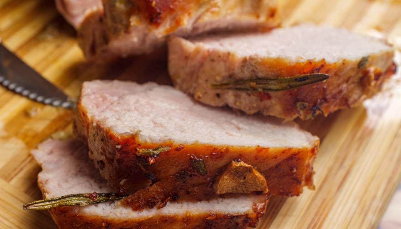 Secondo di carne in crosta di affettato
