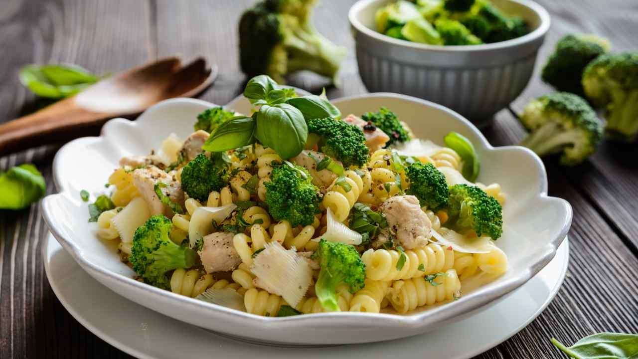 Fusilli con broccoli