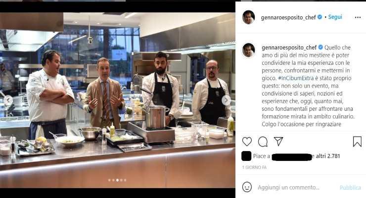Gennaro Esposito sfida a quattro mani - RicettaSprint