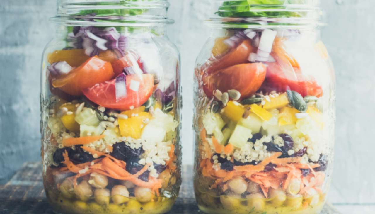 Finger food per celiaci con quinoa e verdure