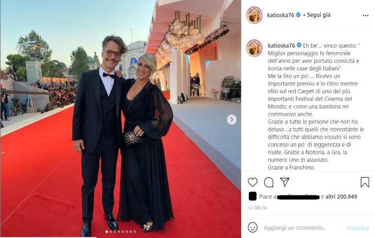 Katia Follesa amore al top - RicettaSprint