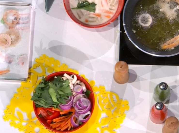 La Tempura della chef Zia Cri è un piatto gustoso di origine giapponese che la famosa chef ha voluto dedicare alla grande atleta