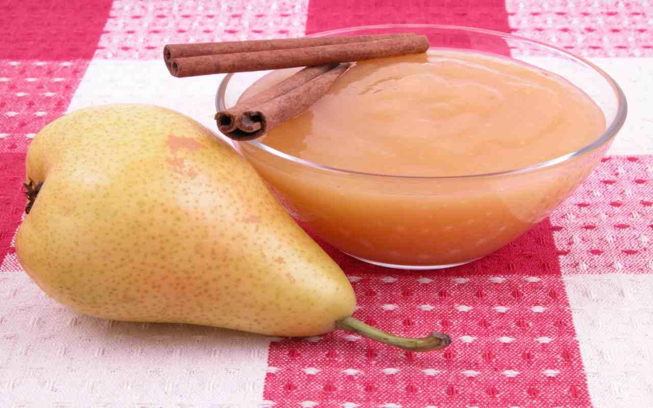 marmellata pere cannella ricetta FOTO ricettasprint