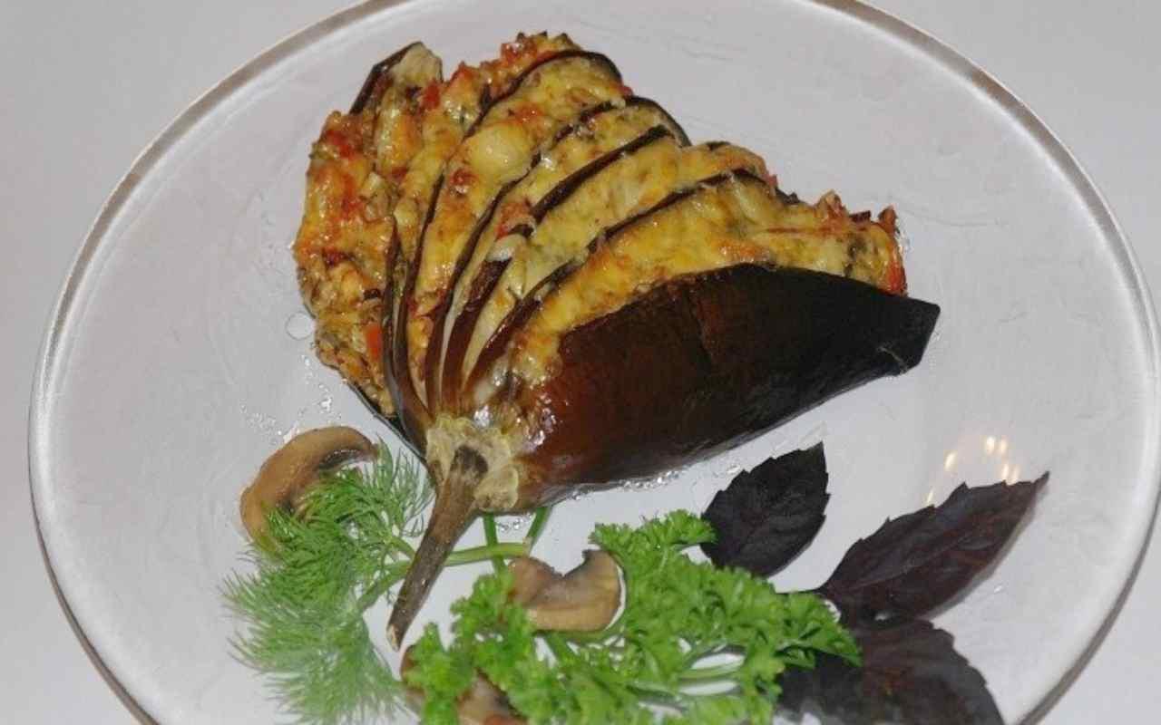 melanzane patate prosciutto forno ricetta FOTO ricettasprint