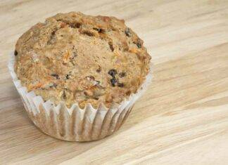 muffin integrali banana carote ricetta FOTO ricettasprint