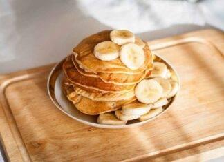 pancake banana cannella ricetta FOTO ricettasprint