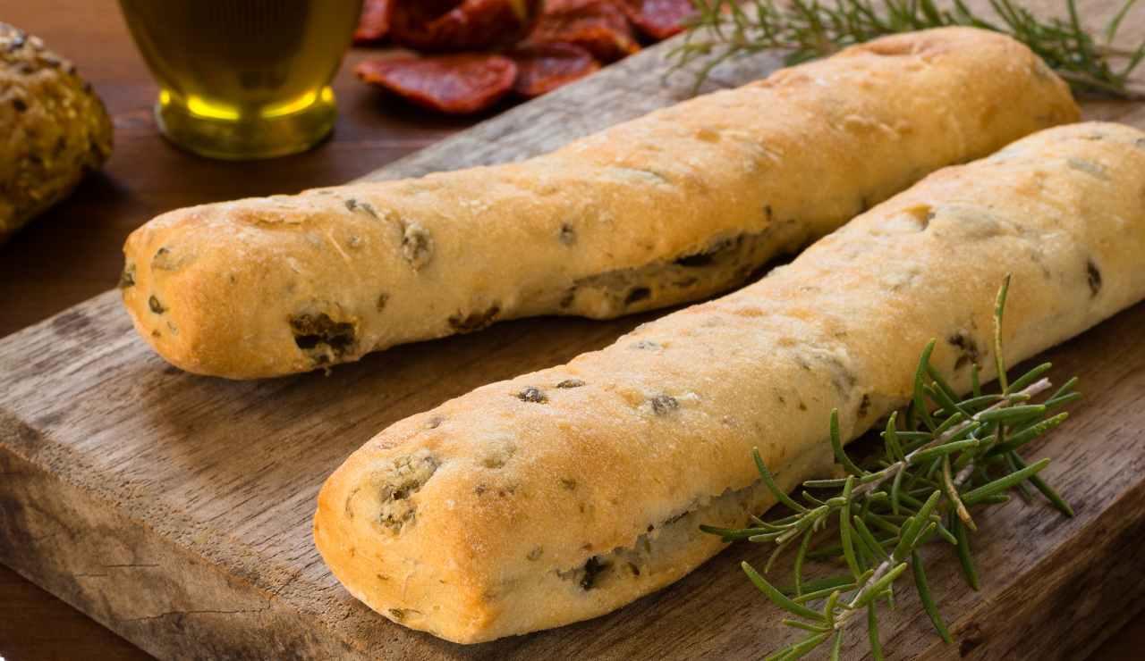 Pane facile alle noci e olive ricettasprint