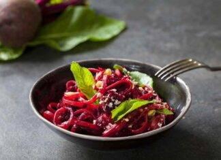 pasta barbabietola parmigiano ricetta FOTO ricettasprint