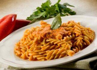 pasta crema peperoni yogurt ricetta FTO ricettasrint