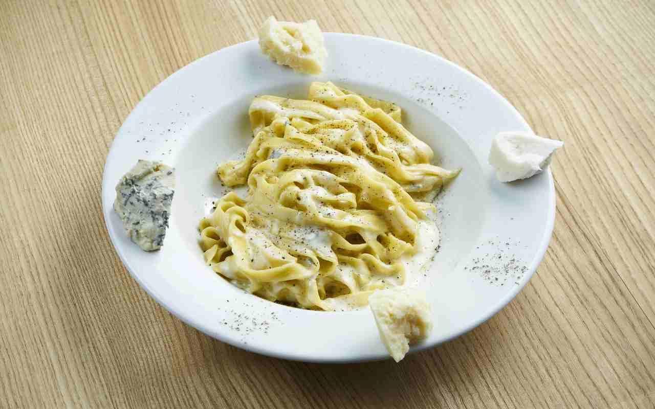 pasta groviera taleggio ricetta FOTO ricettasprint