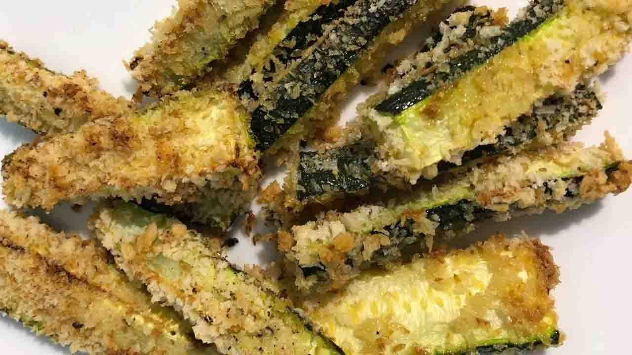 zucchine impanate fritte
