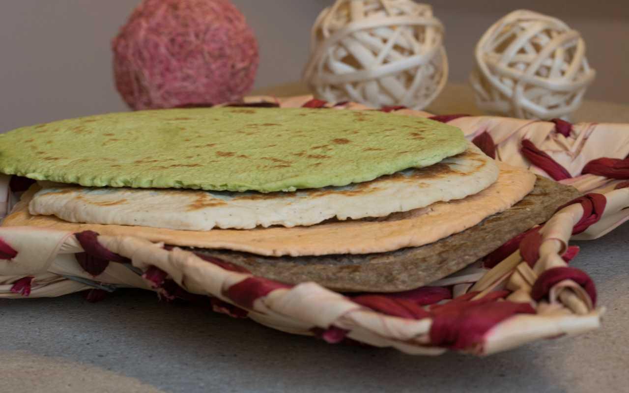 piadina spinaci ricetta FOTO ricettasprint