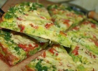 pizza zucchine pomodori tonno ricetta FOTO ricettasprint