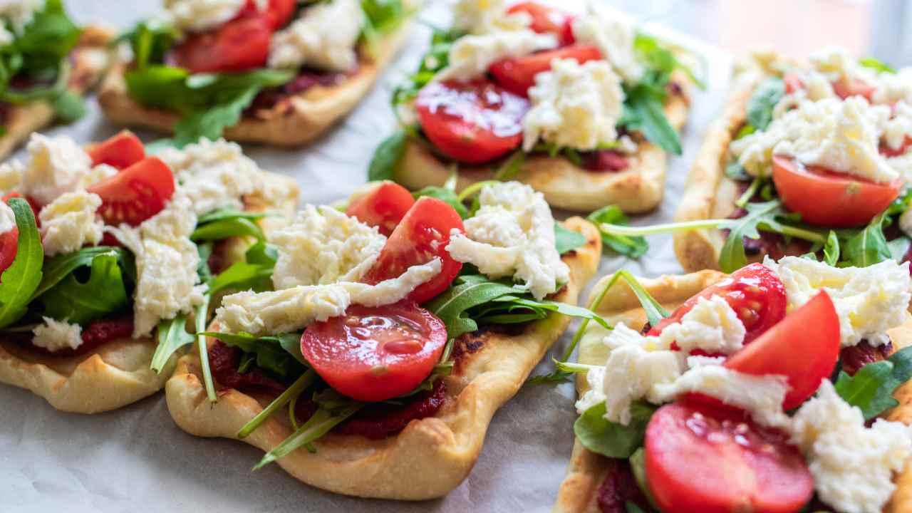 Pizzette con salame
