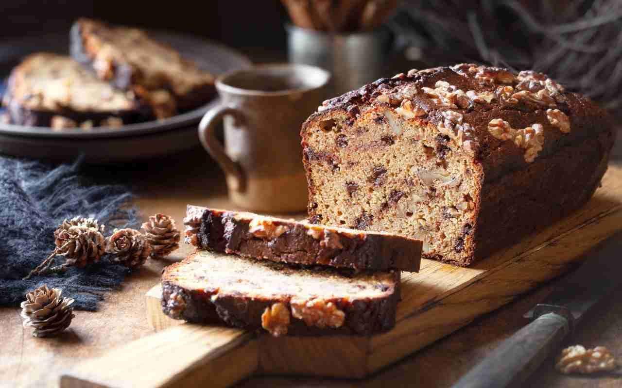 plumcake farina mandorle ceci ricetta FOTO ricettasprint