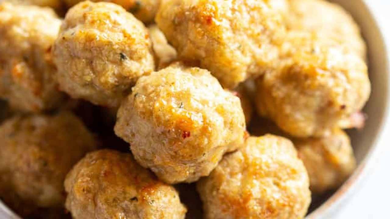 palline di pollo