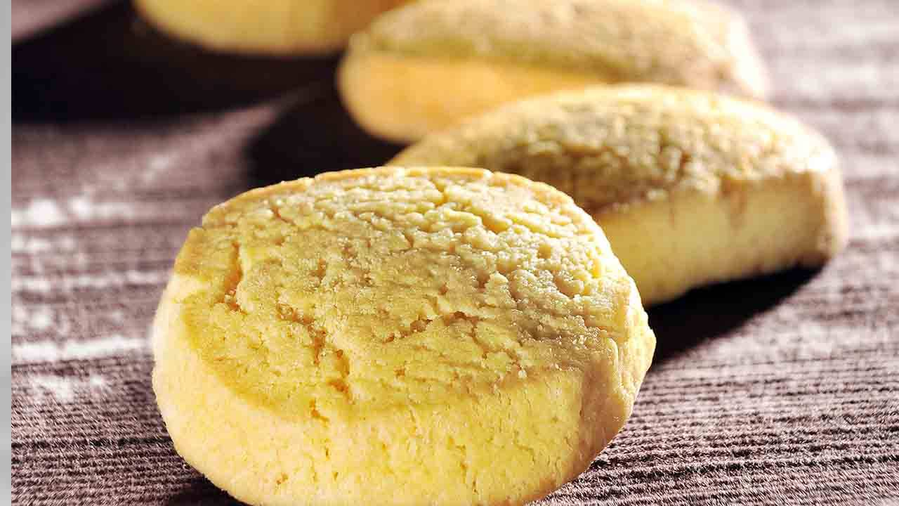 Biscotti al cocco e burro