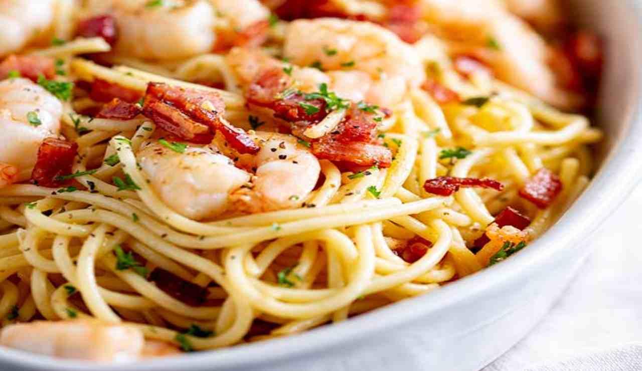 Spaghetti mare terra