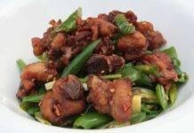 Secondo di carne con peperoni dolci
