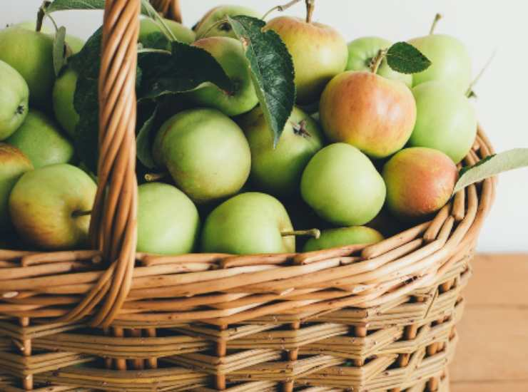 Rustico limone mele e mirtilli ricetta