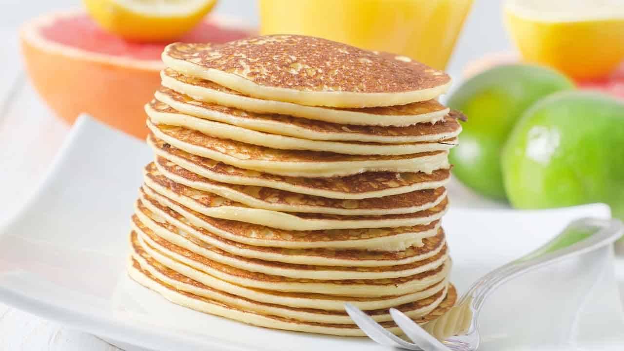 pancake senza uova ne lattosio