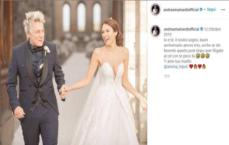 Andrea Mainardi confessione sulla moglie - RicettaSprint