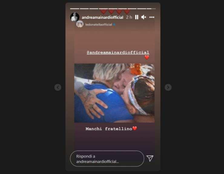Andrea Mainardi dedica d'amore - RicettaSprint