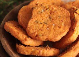 Biscotti di frolla salata al pomodoro ricettasprint