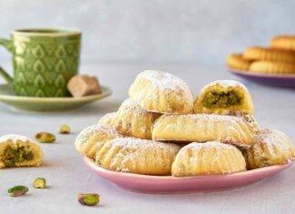biscotti al burro ripieni cocco pistacchio ricetta FOTO ricettasprint