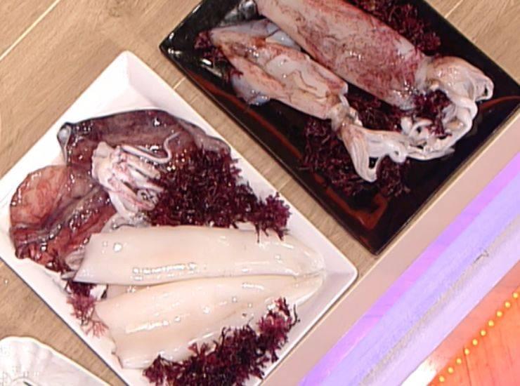 Calamari arrostiti | Ricetta dello chef Gianfranco Pascucci