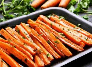 carote spezie forno ricetta FOTO ricettasprint
