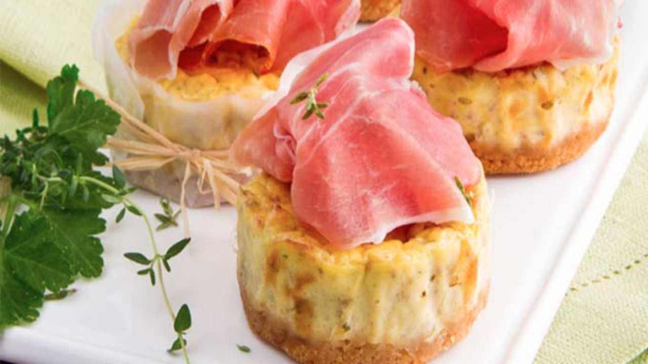 cheesecake ricotta mortadella ricetta FOTO ricettasprint